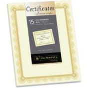 "Southworth Premium 8-1/2"" x 11"" Certificate with Spiro Border Ivory"