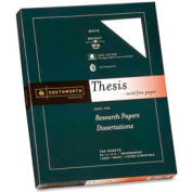 "Southworth® Thesis Paper, 8-1/2"" x 11"", 20 lb, 100% Cotton, Bright White, 250 Sheets/Pack"