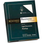 """Southworth® 25% Cotton Business Paper, 8-1/2"""" x 11"""", 20 lb, Recycled, White, 500 Sheets/Pack"""