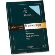 "Southworth® Manscript Cover, 12-1/2"" x 9"", Blue, 100 Sheets/Pack"
