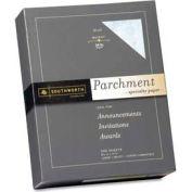 "Southworth® Parchment Specialty Paper, 8-1/2"" x 11"", 24 lb, Blue, 500 Sheets/Pack"
