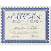 """Southworth® Foil Enhanced Parchment Certificates, 8-1/2"""" x 25"""", Ivory, 15 Sheets/Pack"""