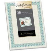 "Southworth® Parchment Certificates, 8-1/2"" x 25"", Ivory, 25 Sheets/Pack"