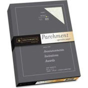 "Southworth® Parchment Specialty Paper, 8-1/2"" x 11"", 32 lb, Ivory, 250 Sheets/Pack"