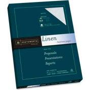 """Southworth® Linen Business Paper, 8-1/2"""" x 11"""", 24 lb, Linen, White, 100 Sheets/Pack"""