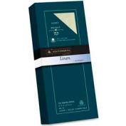 "Southworth® Linen Envelope, #10, 4-1/8"" x 9-1/2"", 24 lbs, Ivory, 50 Envelopes/Pack"