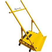 "SawTrax Scoop Panel Dolly, 33-3/4""L x 30""W x 65"" H, 700 Lb Capacity, SCOOP"