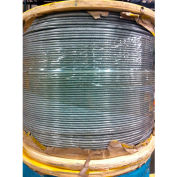 """Southern Wire® 250' 1/4"""" Diameter Vinyl Coated 5/16"""" Diameter 7x19 Galvanized Aircraft Cable"""