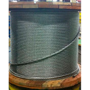 """Southern Wire® 250' 1/8"""" Dia. Vinyl Coated 3/16"""" Dia. 7x19 Type 304 Stainless Steel Cable"""