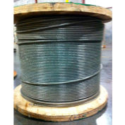 "Southern Wire® 250' 5/16"" Dia. Vinyl Coated 3/8"" Dia. 7x19 Type 304 Stainless Steel Cable"