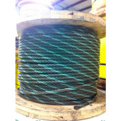 "Southern Wire® 250' 1-1/2"" Dia. 6x36 Extra Improved Plow Steel Bright Wire Rope"