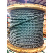 """Southern Wire® 250' 5/16"""" Dia. 6x36 Extra Improved Plow Steel Galvanized Wire Rope"""