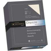 "Southworth® Granite Specialty Paper 934C, 8-1/2"" x 11"", Ivory, 1/Box"