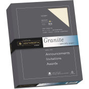 "Southworth® Granite Specialty Paper J938C, 8-1/2"" x 11"", Ivory, 250/Box"