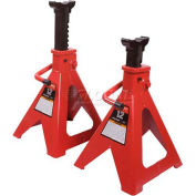 Sunex Tools 1012 12 Ton Jack Stands, Steel Base, Pair