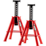 Sunex 10 Ton Medium Height Pin Type Jack Stands (Pair) - 1310