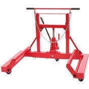 Sunex® 1500 lb. Hydraulic Wheel Dolly, 1501, Tilting Frame, Ball Bearing Casters