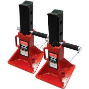 Sunex Tools 1522 22 Ton Jack Stands, Pin-Type, Pair