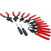 Sunex® 10 Pc. Snap Ring Pliers Set