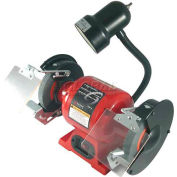 "Sunex® 6"" Bench Grinder w/ Light"