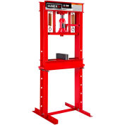 Sunex Tools 5712 - 12 Ton Manual Hydraulic Shop Press w/ Accessory Kit - Fully Welded - Made in USA