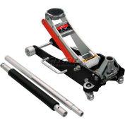 Sunex® 2 Ton Aluminum Service Jack, 6602ASJ, Rapid Rise, Dual Pump