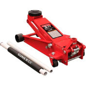 Sunex Tools 66037 3.5 Ton Service Jack with Quick Lift System, Rapid Rise, Rubber Saddle