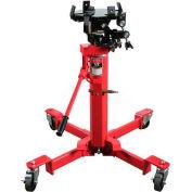Sunex® 1/2 Ton Air & Hydraulic Telescopic Trans Jack, 7796, Universal Saddle, Foot Activated