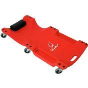 "Sunex Tools 8511 6 Caster Plastic Creeper, 40"" Long Frame, 1"" Profile"