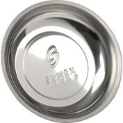 """Sunex Tools 8810 6"""" Mighty Mag Round Single Magnetic Parts Tray"""