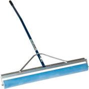 "Midwest Rake® 36"" Absorbent PVA Roller Squeegee, 60"" Ergonomic Blue Aluminum Handle - 72036"