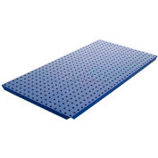 Alligator Board Pegboard Panels - Powdercoat Blue 16 x 32 (2 pc)