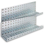 Metal Shelves - Galvanized 3 x 16 (2 pc)