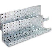 Metal Shelves - Galvanized 5 x 16 (2 pc)