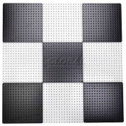 Pegboard Panels - Checkerboard Black & White 16 x 16 (9 pc)