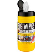 BIG WIPES™ Multi-Purpose - 80 Wipes/Canister; 8 Canisters - 6002 0048 - Pkg Qty 8