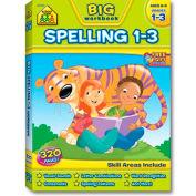 School Zone Big Spelling 1-3 Workbook