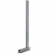 "Modern Equipment U1437-NS Cantilever Rack Single Sided Upright (3000 Series) 37""W x 14'H"