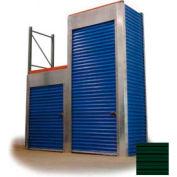 """Trac-Rite RLB46048096 Rack-Lock Back Closure, 48""""W x 96""""H, Steel, Evergreen"""