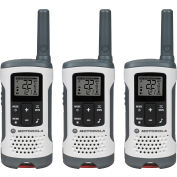 Motorola Talkabout ® T260TP Rechargeable Two-Way Radios, White - 3 Pack