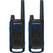 Motorola Talkabout® T800 Two-Way Radios, Black, 2 Pack