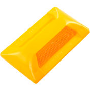 """Tapco® 102208 PM-24 Pavement Marker, 2"""" x 4"""", Amber Reflector, 1 Side"""
