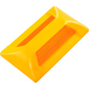 "Tapco® 102210 PM-24 Pavement Marker, 2"" x 4"", Amber Reflector, 2 Sides"