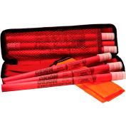 Tapco® 113179 Original Highway Road Flare Kit, 30 Minute Capacity, 6-Pack