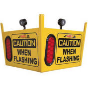Collision Awareness Large Look Out Sensor, Ceiling Hung, 1 Box, 4 Sensors, 4 Lights, 50' Cord