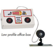 Collision Awareness Office Door Monitor, Wall Mounted, 1 Box, 1 Remote Sensor, 2 Lights, 15' Cord