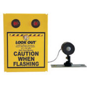 Collision Awareness Basic Hall Door Monitor, Wall Mount, 1 Box, 1 Remote Sensor, 2 Lights, 15' Cord