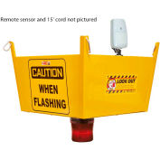 Collision Awareness Dock Watcher Forklift Sensor, 1 Box, 1 Sensor, 1 Remote Sensor, 15' Cord