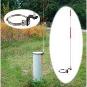 Tapco® 2673-00030 5' Long Fiberglass Pedestal Utility Marker
