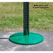 "Tapco® 57 lbs. Cast Iron Porta Base, 18"" Diameter, Green (Post Not Included)"